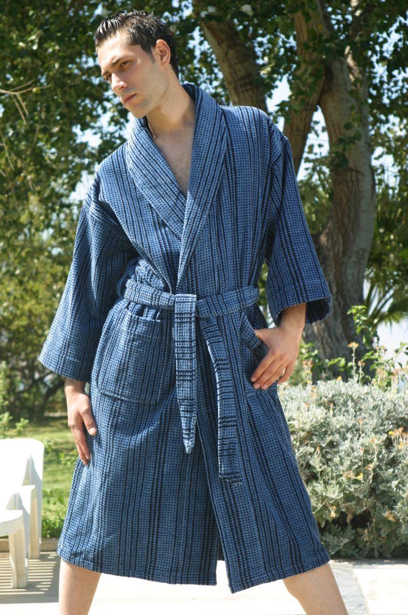 Towelling dressing gown for men. Luxury Men s velour bathrobes. Men s Hooded  Velvet Robes a22e964d2
