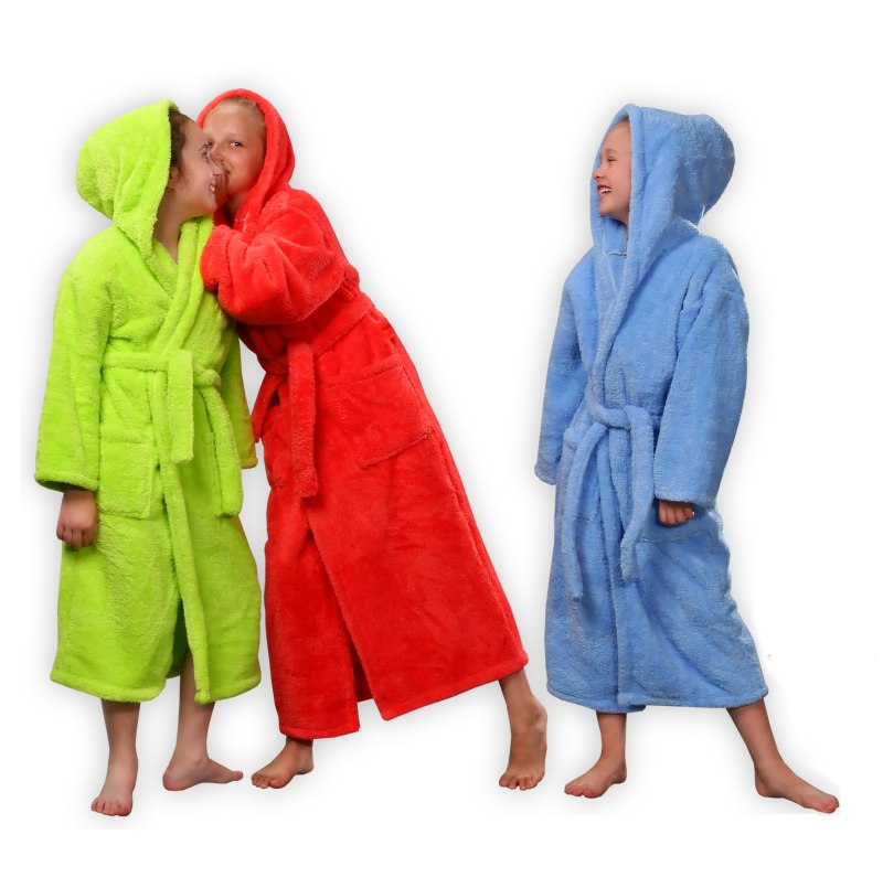 FLEECE ROBES | Turkish Hammam Towels | Towelling Bathrobes | Soft ...