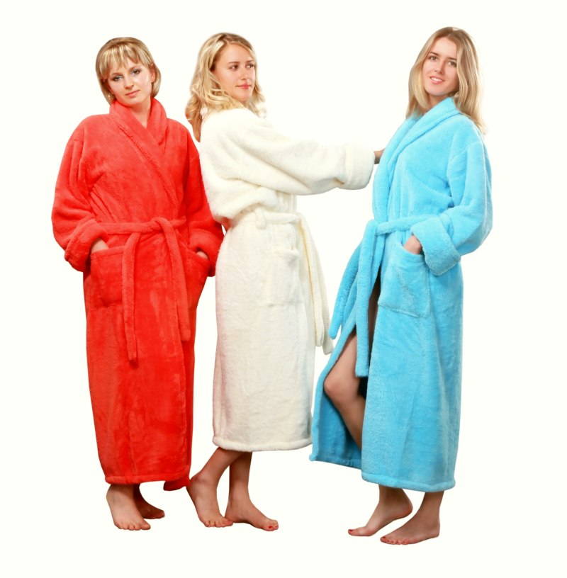 Luxury soft fleece dressing gown · Ladies Dressing Gowns 51f439cc9