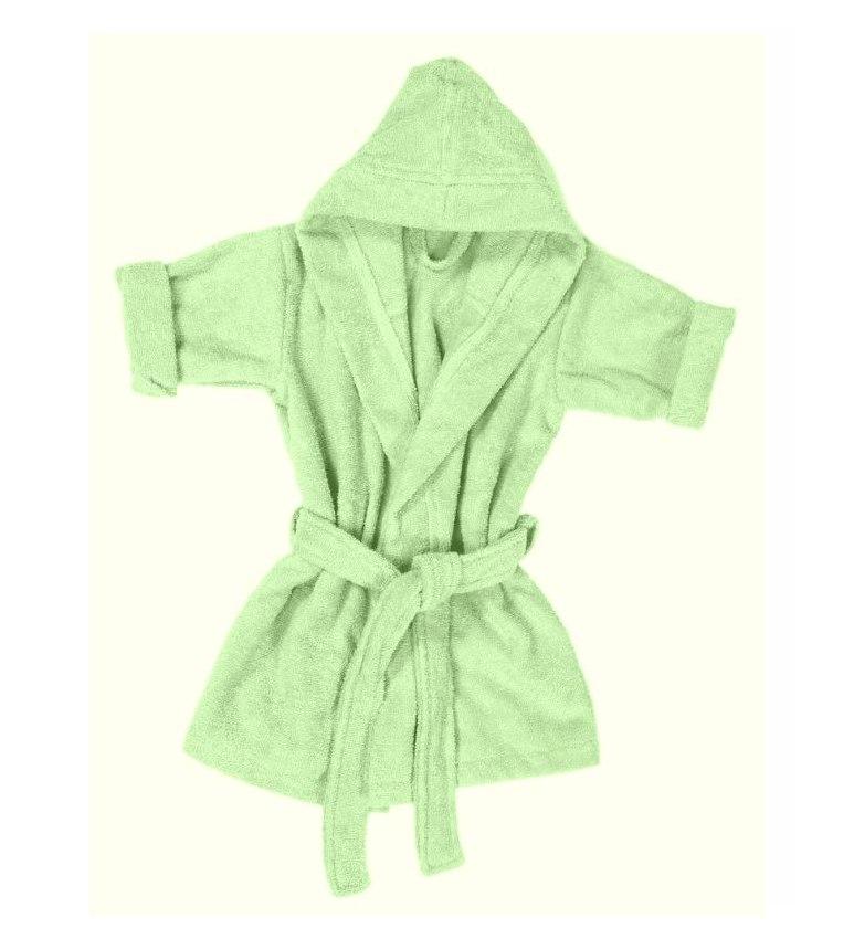 140502098f Kids Boys 100% Egyptian Cotton Velour Terry Towelling Bath Robe Hooded